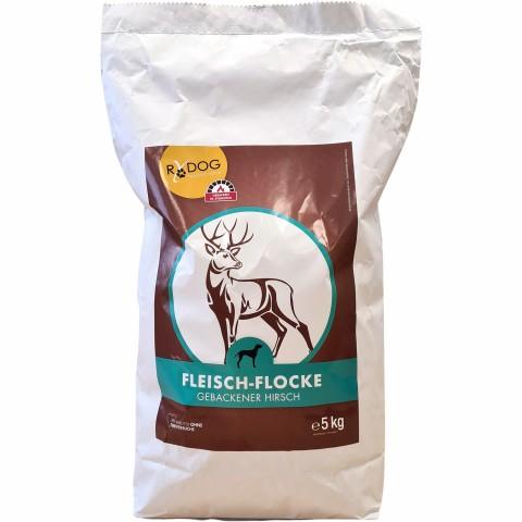 Fleisch-Flocke Hirsch 5kg (1 Stück)